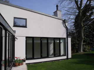 White Barn contemporary extension